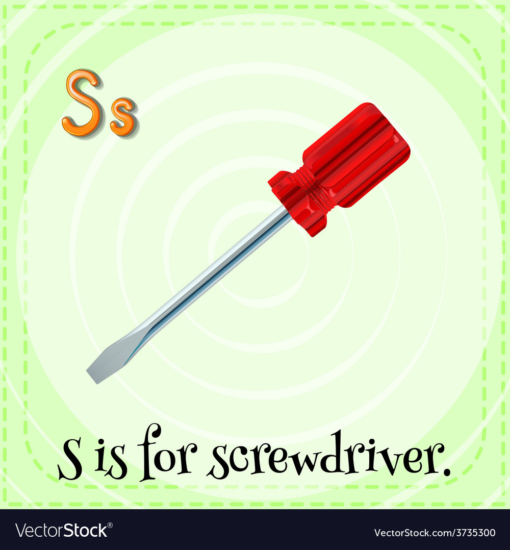 Letter s vector | Price: 1 Credit (USD $1)