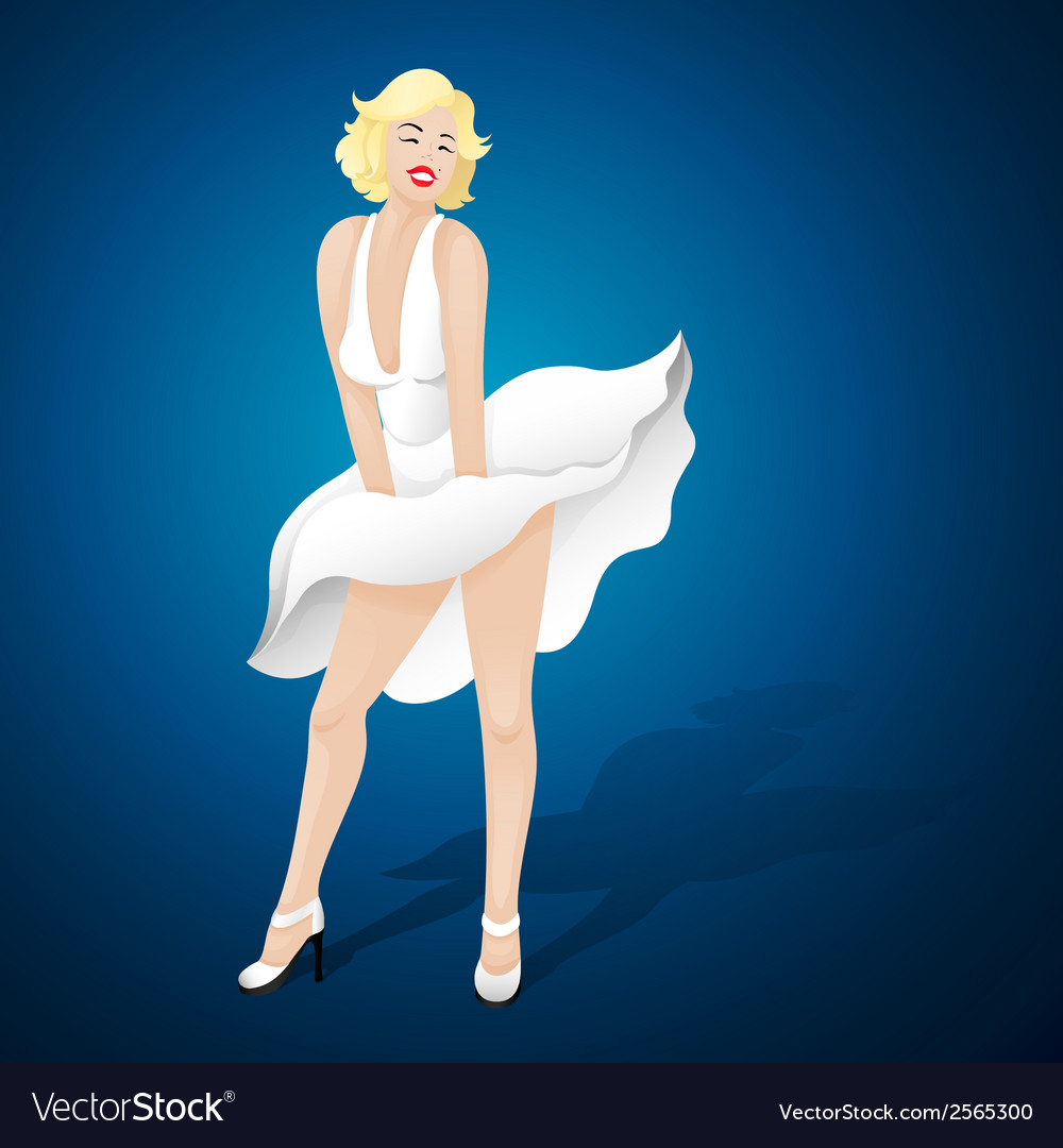 Marilyn monroe vector | Price: 1 Credit (USD $1)