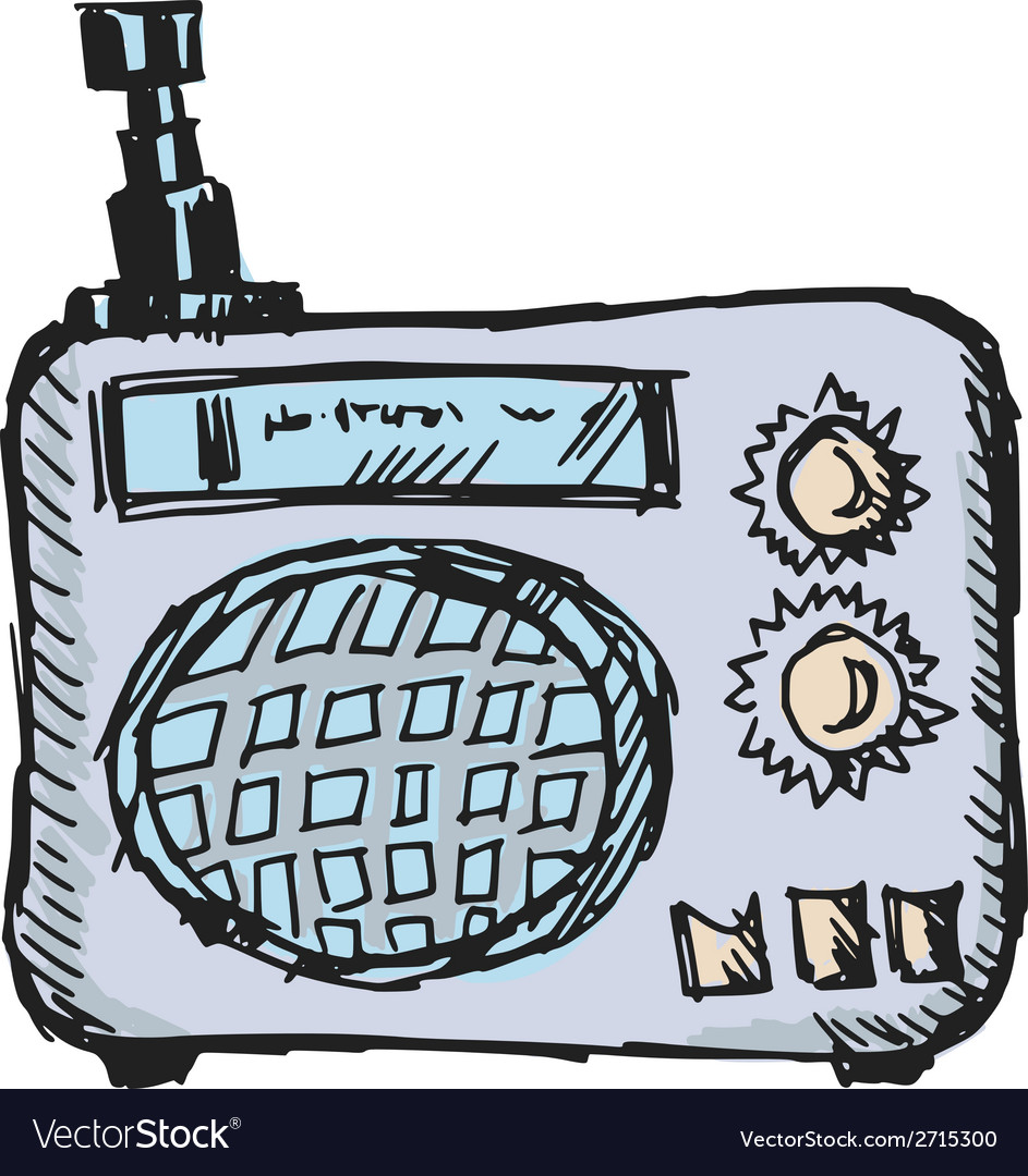 Radio vector | Price: 1 Credit (USD $1)