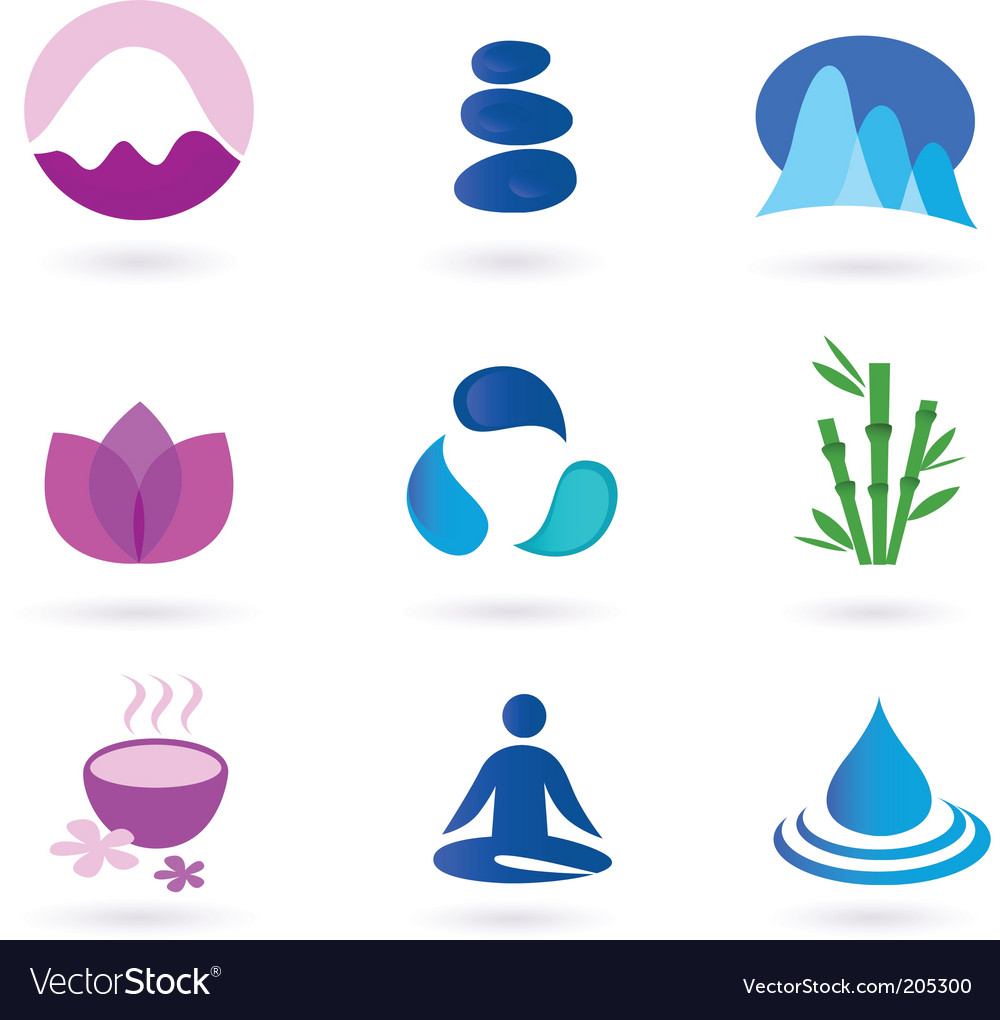 Yoga icon vector | Price: 1 Credit (USD $1)