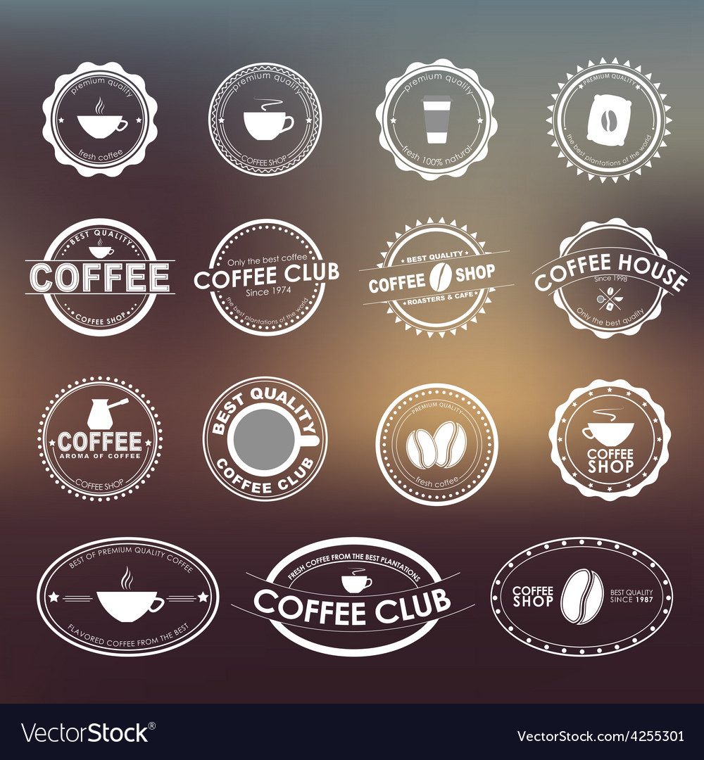 Coffee logo 1 vector | Price: 1 Credit (USD $1)