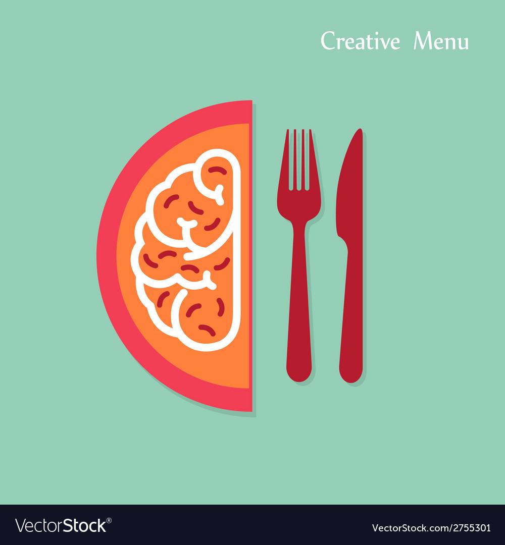 Creativity menu concepts vector | Price: 1 Credit (USD $1)