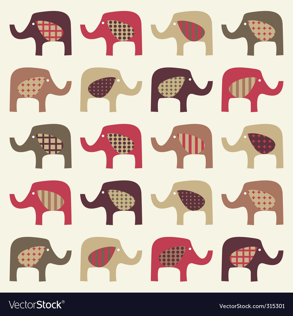 Elephant silhouette vector   Price: 1 Credit (USD $1)