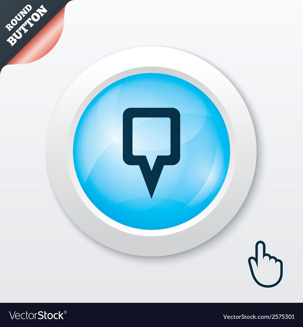 Map pointer sign icon marker symbol vector   Price: 1 Credit (USD $1)