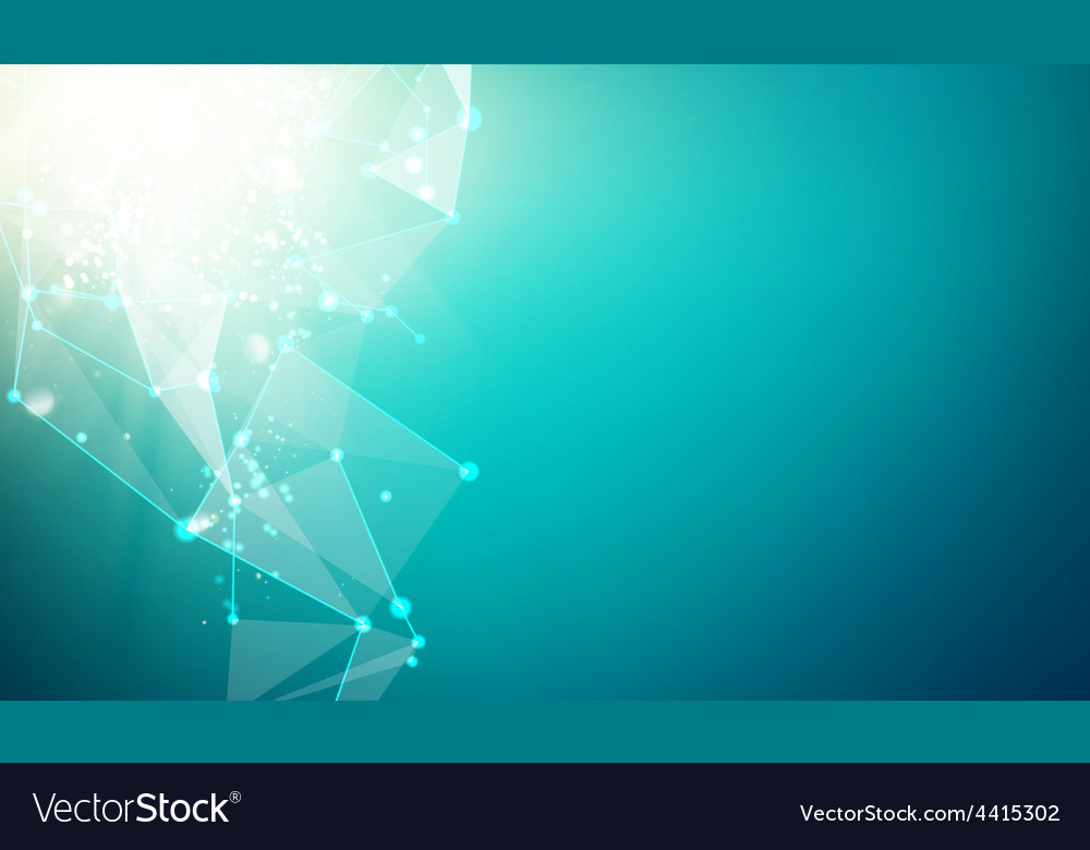 Abstract blue science background vector | Price: 1 Credit (USD $1)