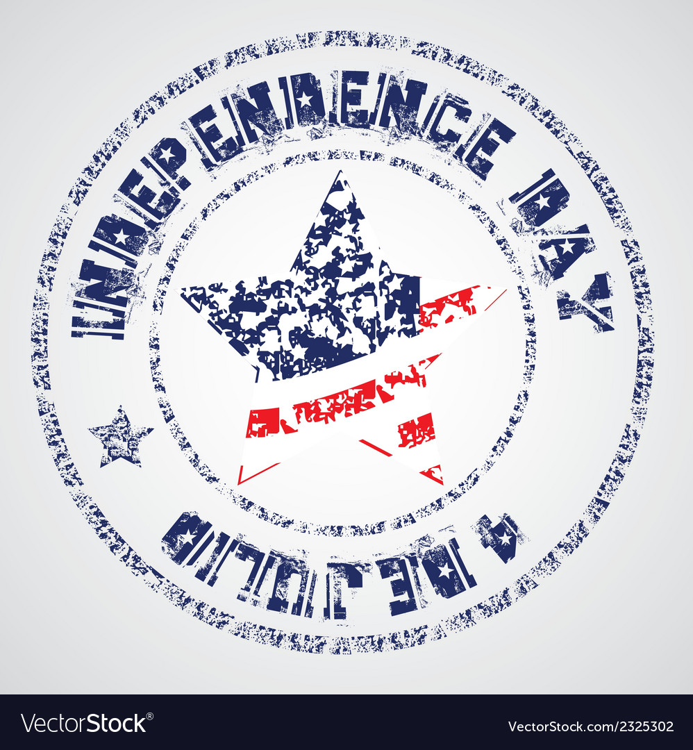 The day of united states independence july 4 vector   Price: 1 Credit (USD $1)