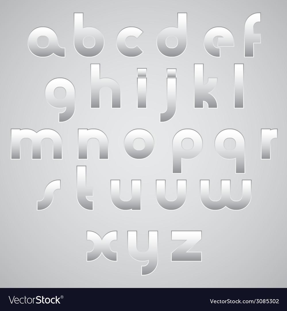 Geometric modern style digital letters alphabet vector   Price: 1 Credit (USD $1)