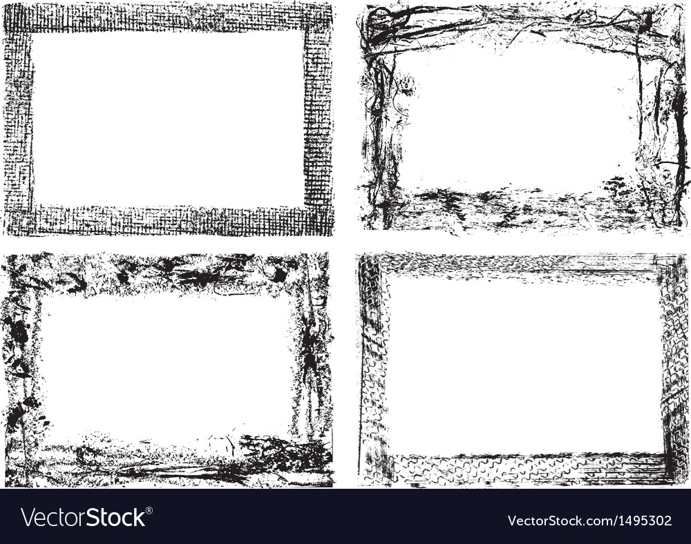 Grunge banners and scroll set vector   Price: 1 Credit (USD $1)