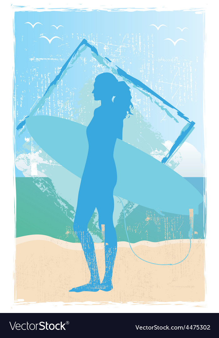 Surfer vector | Price: 1 Credit (USD $1)