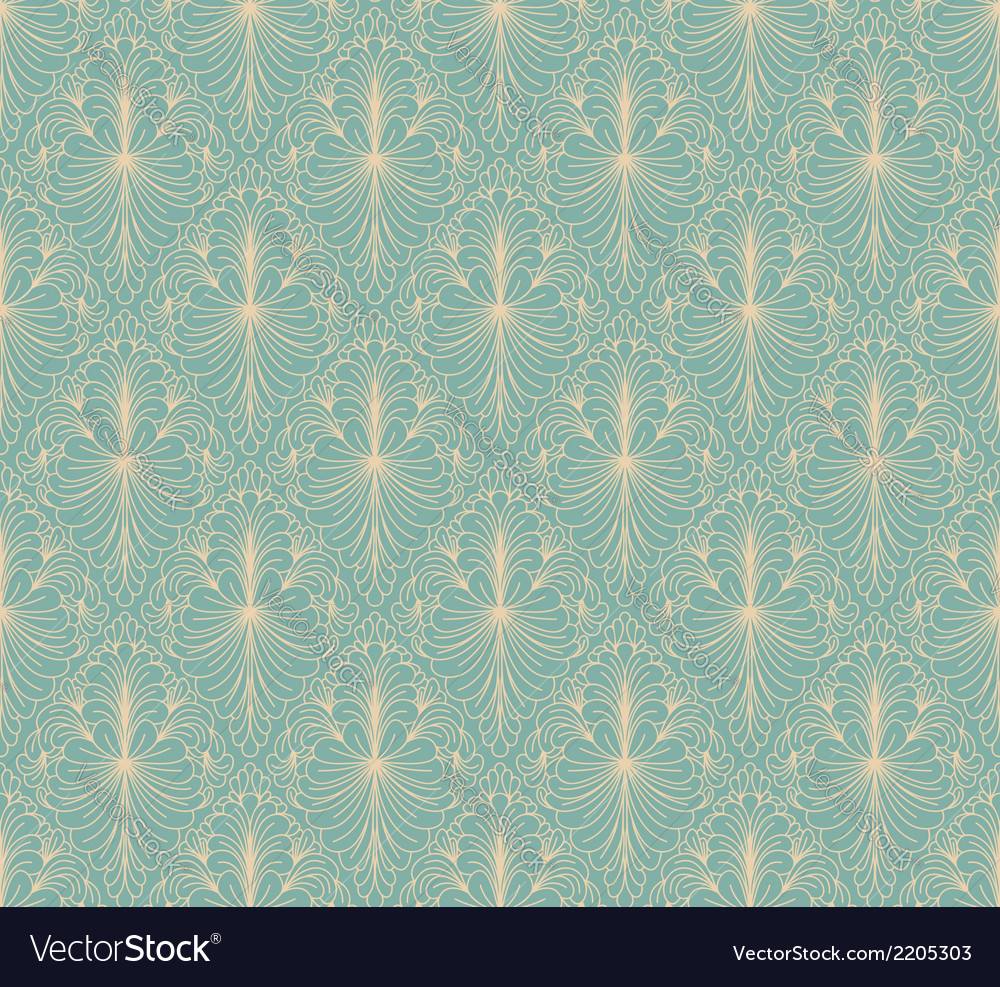 Vintage wallpaper vector | Price: 1 Credit (USD $1)
