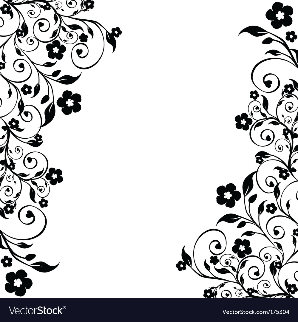 Flower ornament vector | Price: 1 Credit (USD $1)
