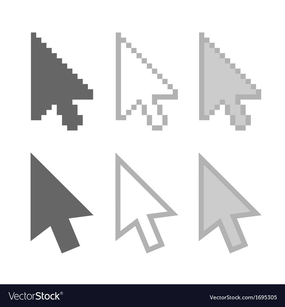 Arrow cursors vector | Price: 1 Credit (USD $1)