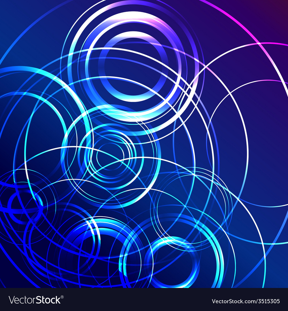 Blue star flash abstract background vector | Price: 1 Credit (USD $1)