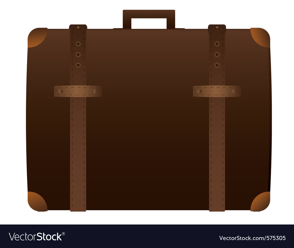 Suitcase vector | Price: 1 Credit (USD $1)