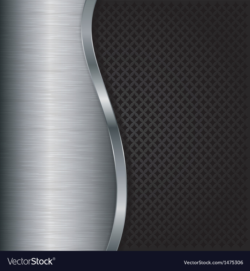 Abstract silver background with metallic grill vector | Price: 1 Credit (USD $1)