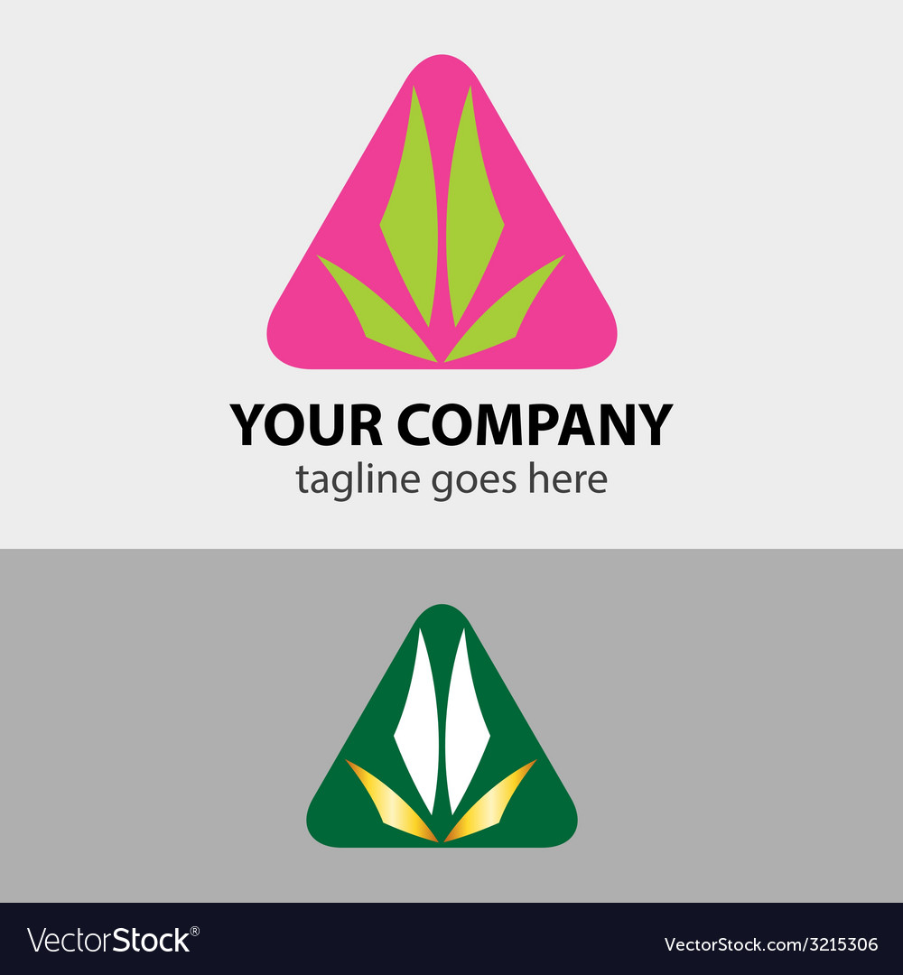 Design triangle sign icon template vector | Price: 1 Credit (USD $1)