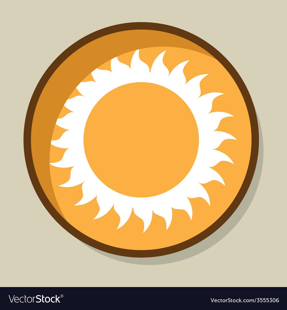 Summer icon vector | Price: 1 Credit (USD $1)