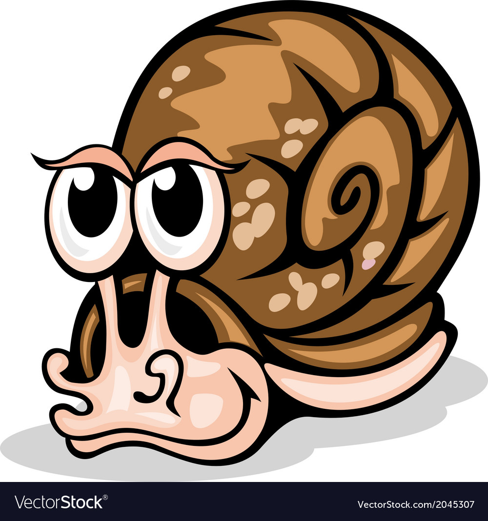Funny snail vector | Price: 1 Credit (USD $1)
