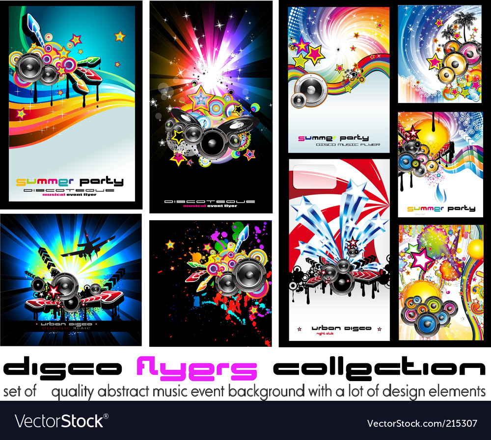 Music discotheque backgound vector | Price: 3 Credit (USD $3)