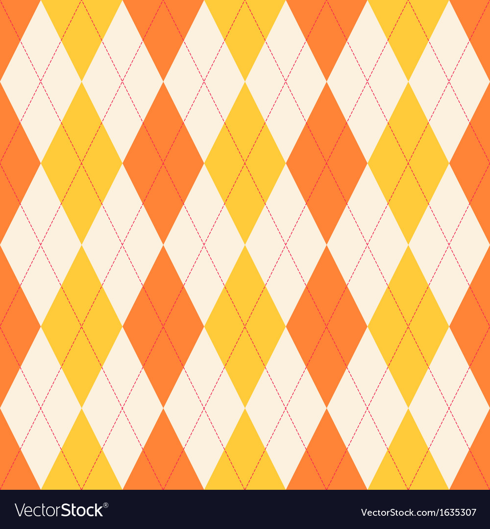 Seamless classical argyle pattern vector | Price: 1 Credit (USD $1)
