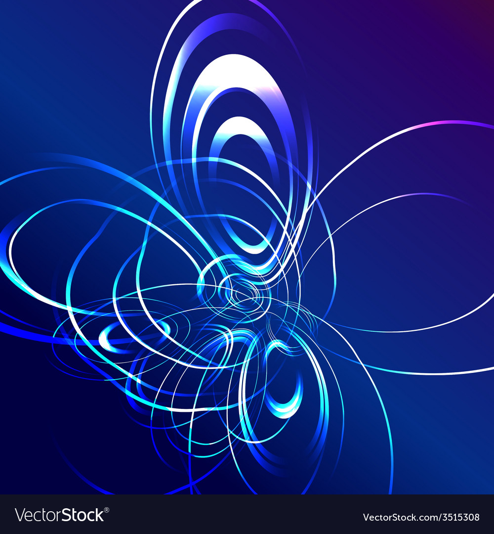 Blue star flash abstract background vector   Price: 1 Credit (USD $1)