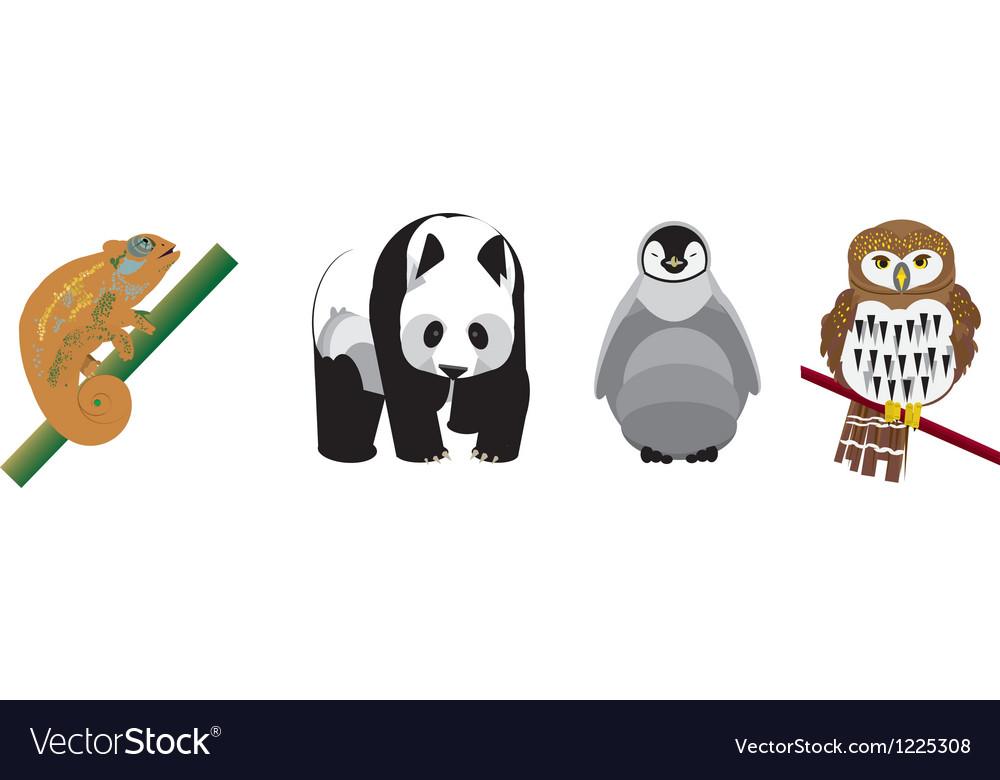 Geometric animals vector | Price: 3 Credit (USD $3)