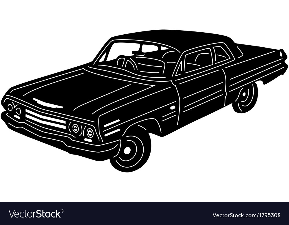 Great detailed car vector | Price: 1 Credit (USD $1)