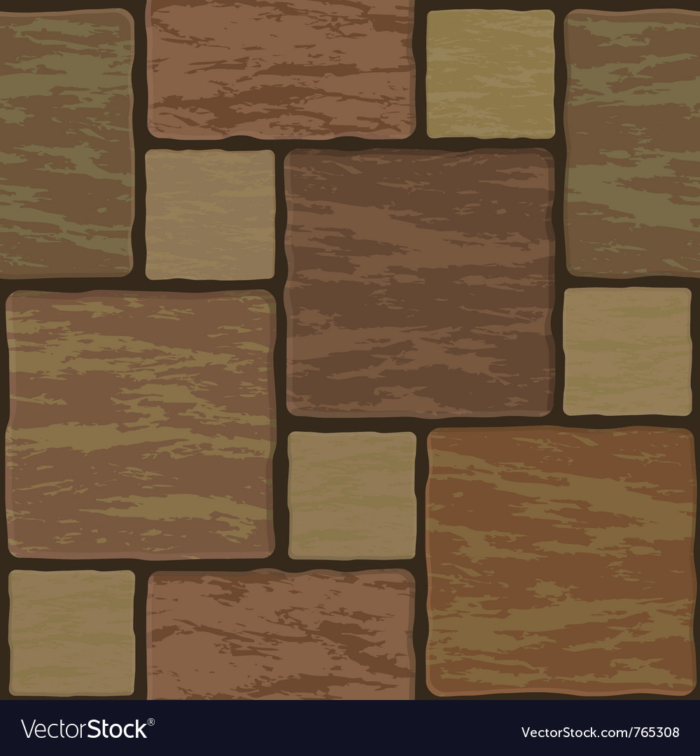 Seamless stonewall tile vector | Price: 1 Credit (USD $1)