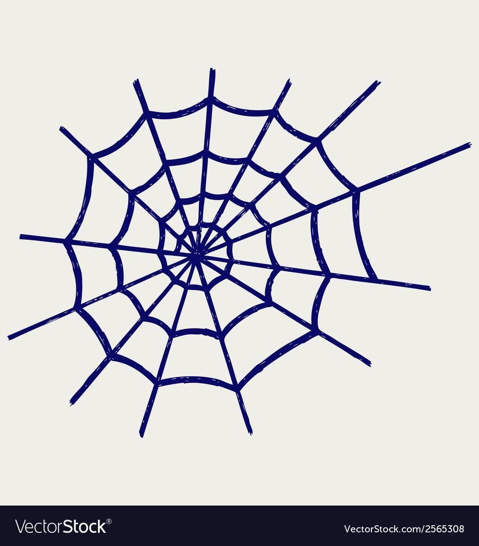 Spider net vector | Price: 1 Credit (USD $1)