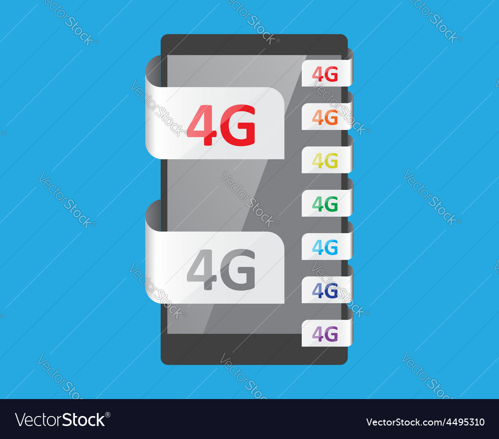 4g connection feature vector | Price: 1 Credit (USD $1)