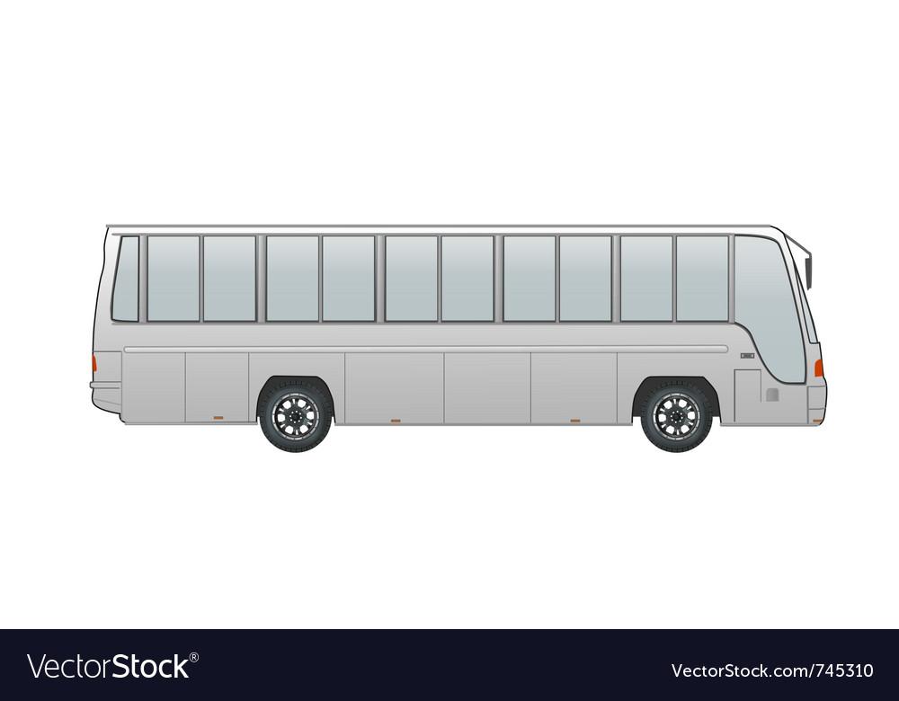Coach bus vector | Price: 1 Credit (USD $1)