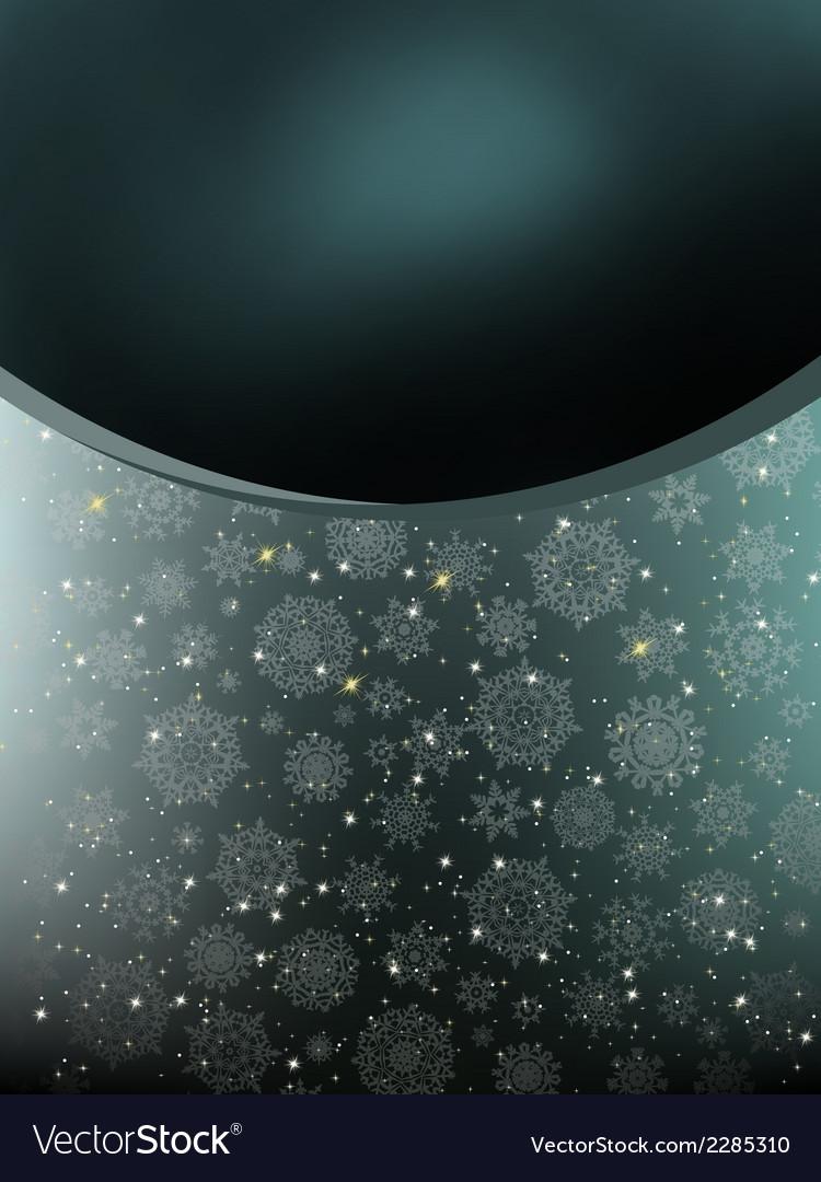 Elegant dark style christmas background eps 8 vector | Price: 1 Credit (USD $1)