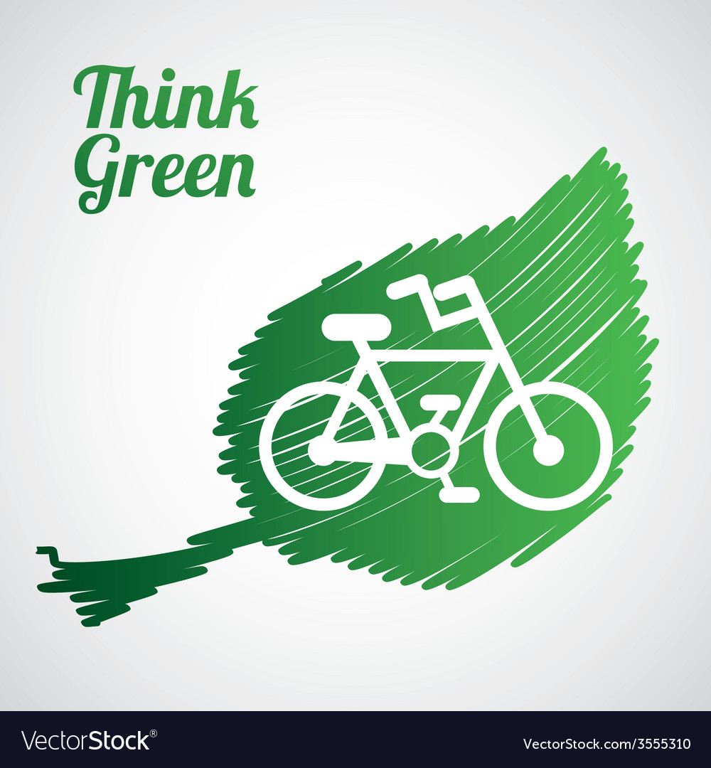 Think green vector   Price: 1 Credit (USD $1)