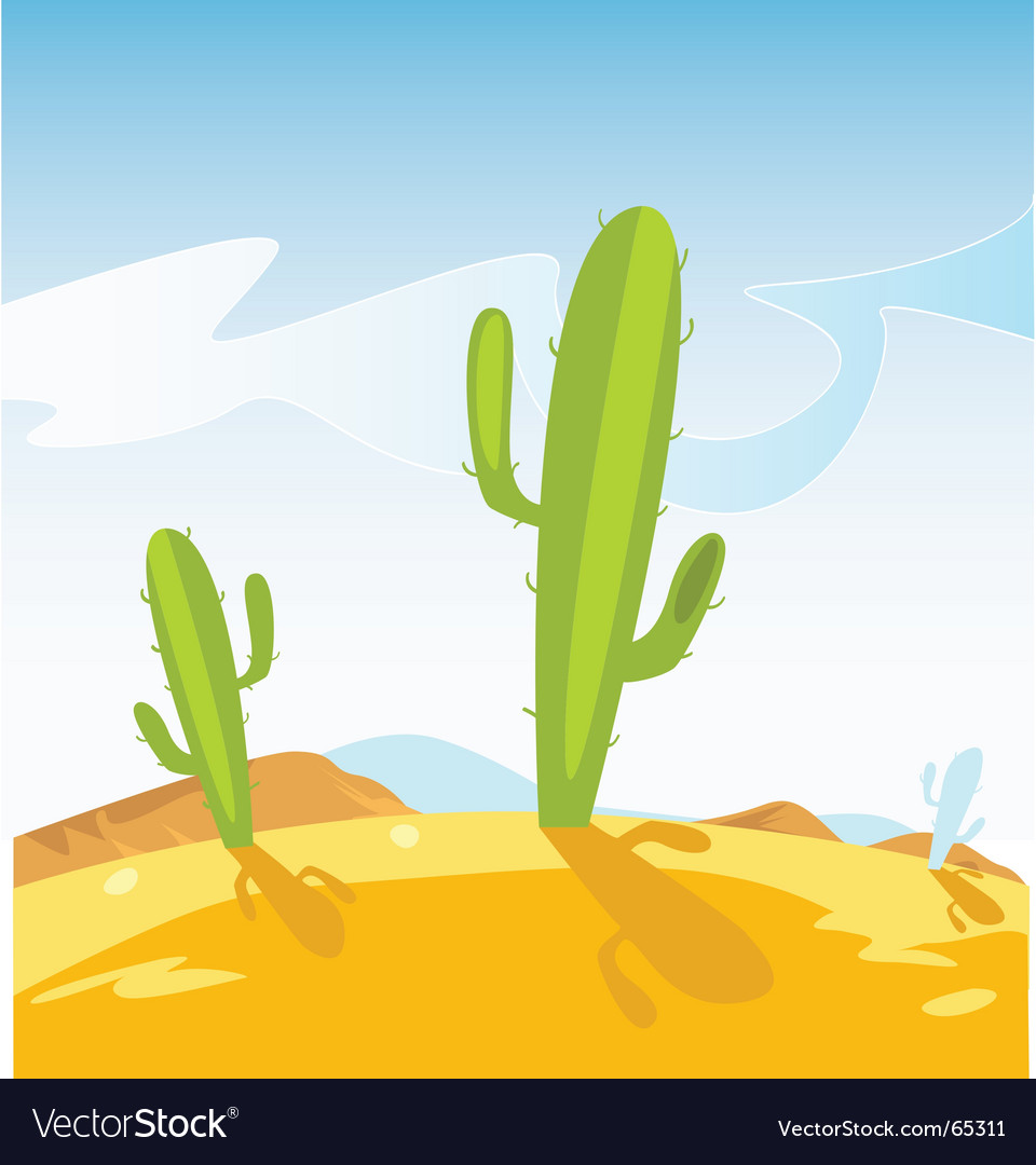 Cactus plants vector | Price: 1 Credit (USD $1)