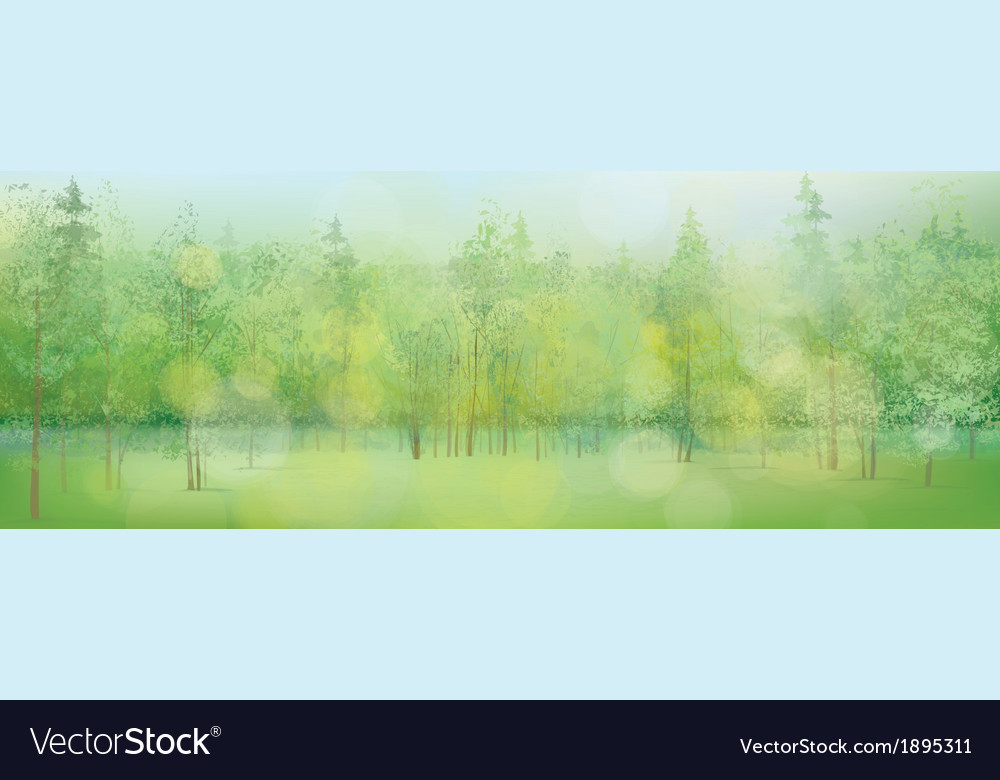 Spring lights vector | Price: 1 Credit (USD $1)