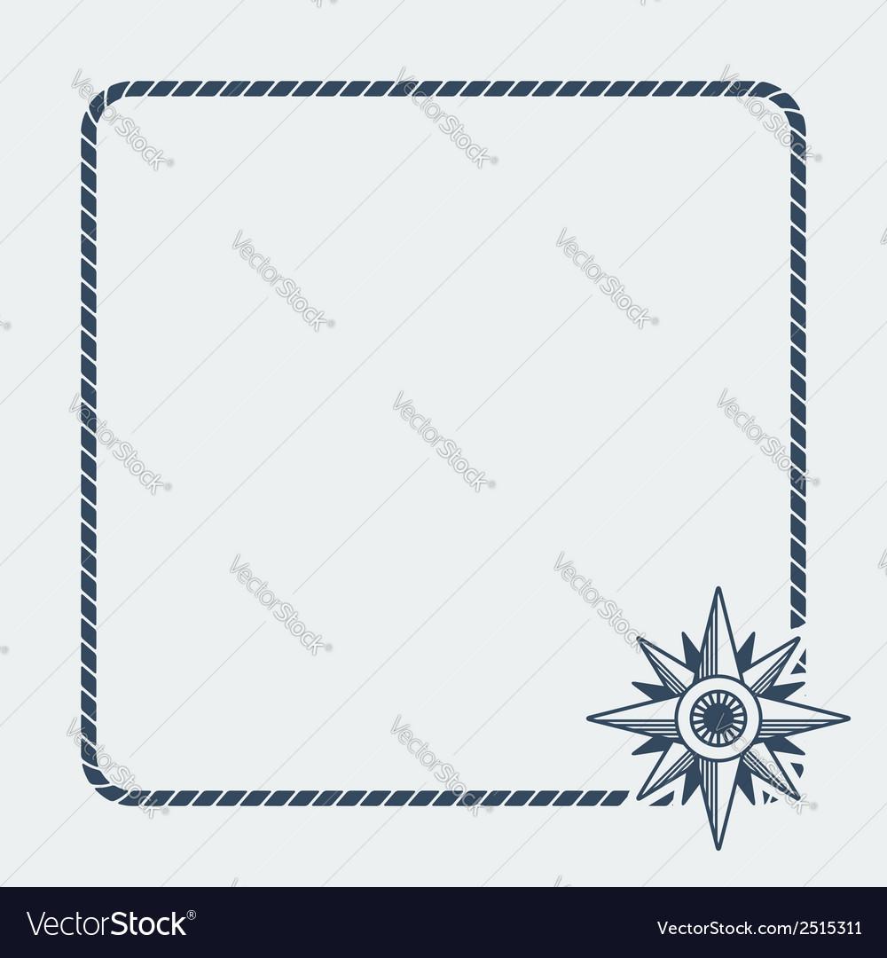 Wind rose marine background vector | Price: 1 Credit (USD $1)