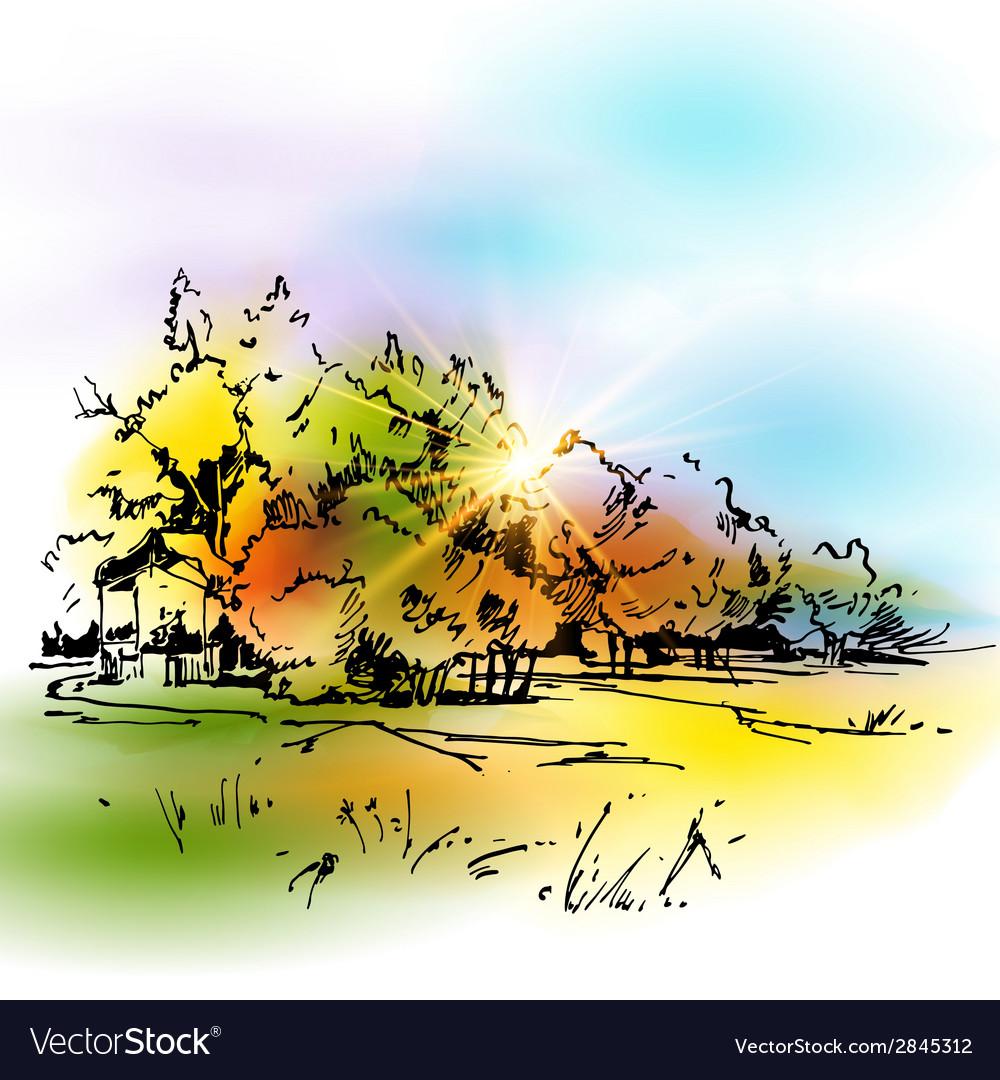 Autumn vector | Price: 1 Credit (USD $1)
