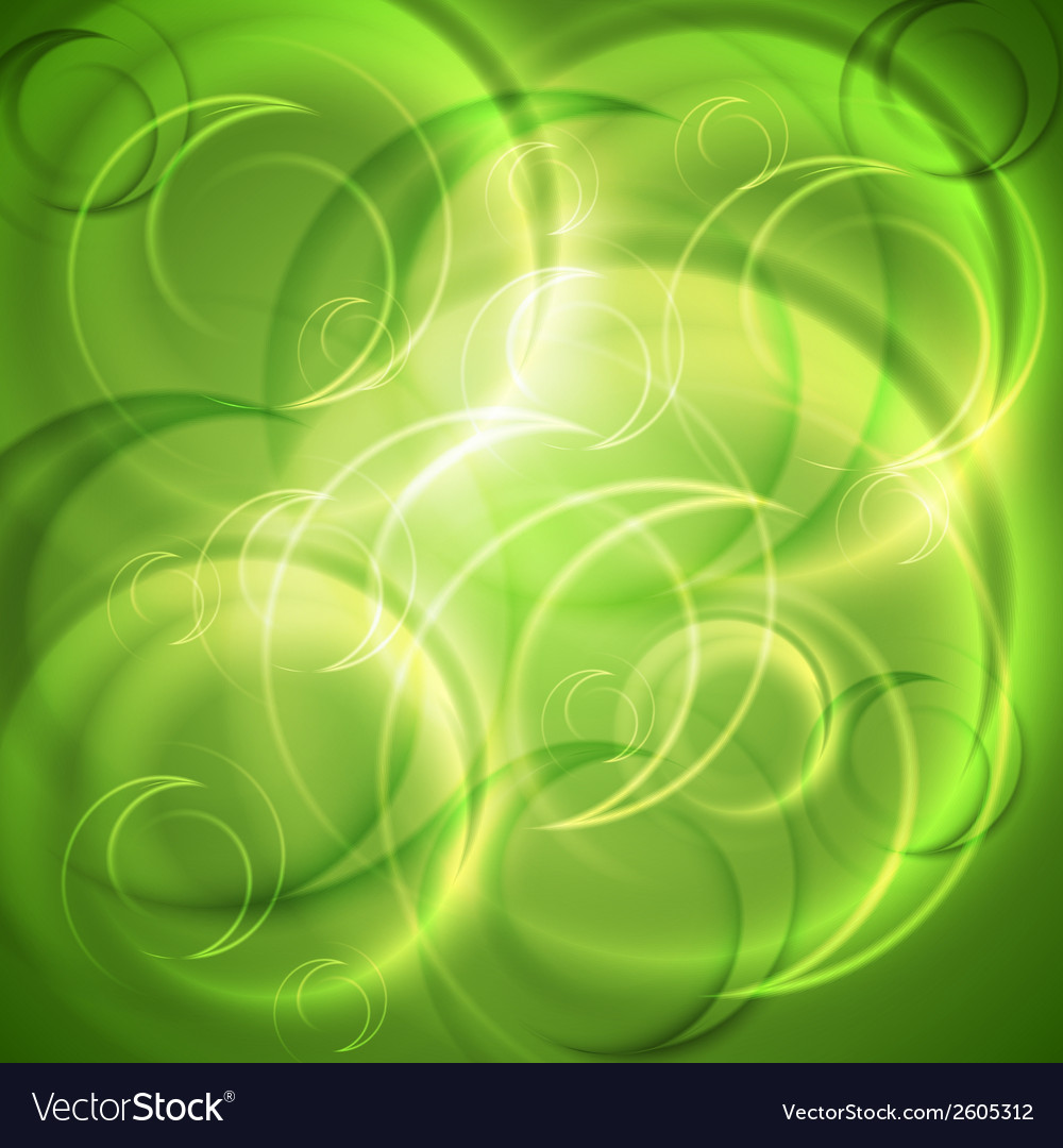 Green shiny abstract backdrop vector | Price: 1 Credit (USD $1)