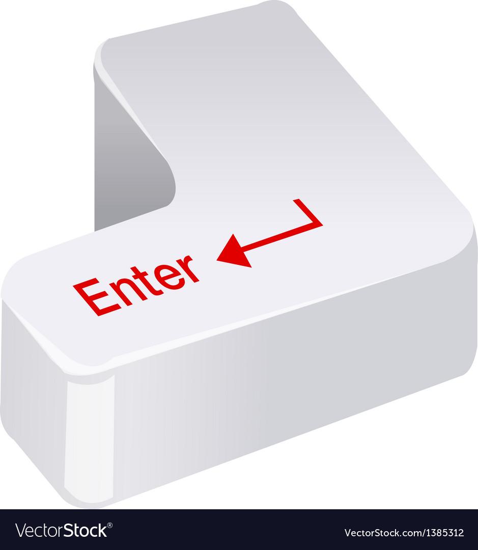 Icon enter key vector   Price: 1 Credit (USD $1)