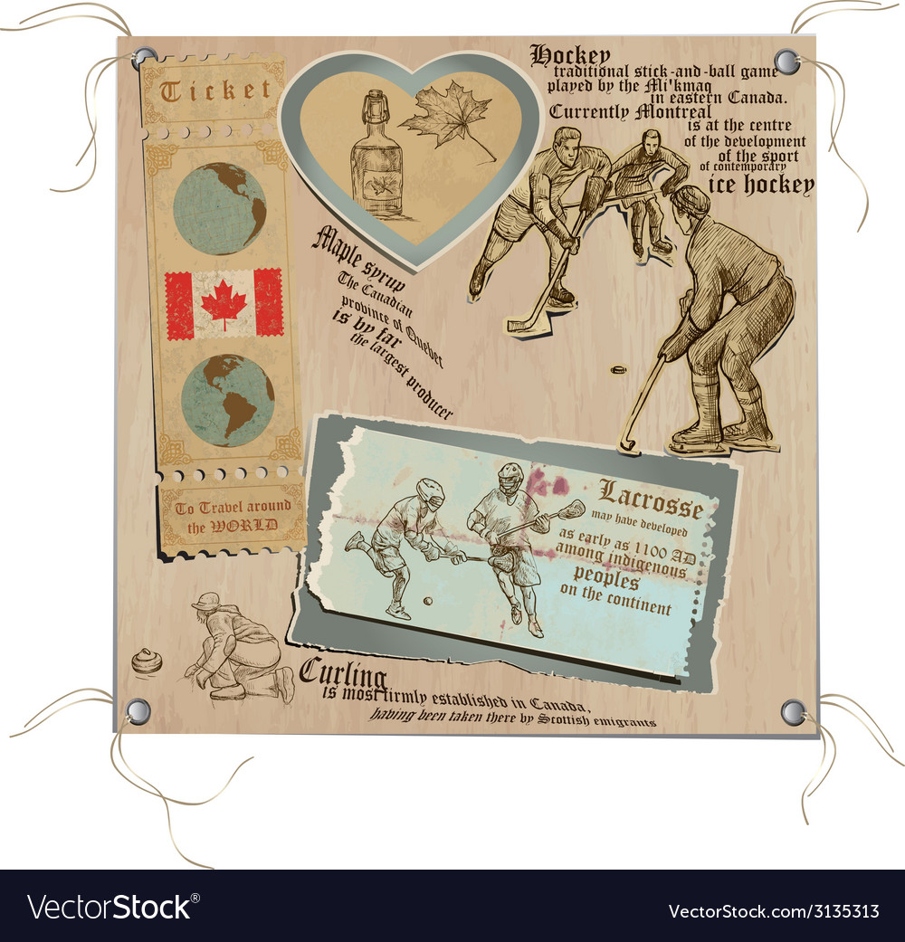 Canada - pictures of life sports vector | Price: 1 Credit (USD $1)