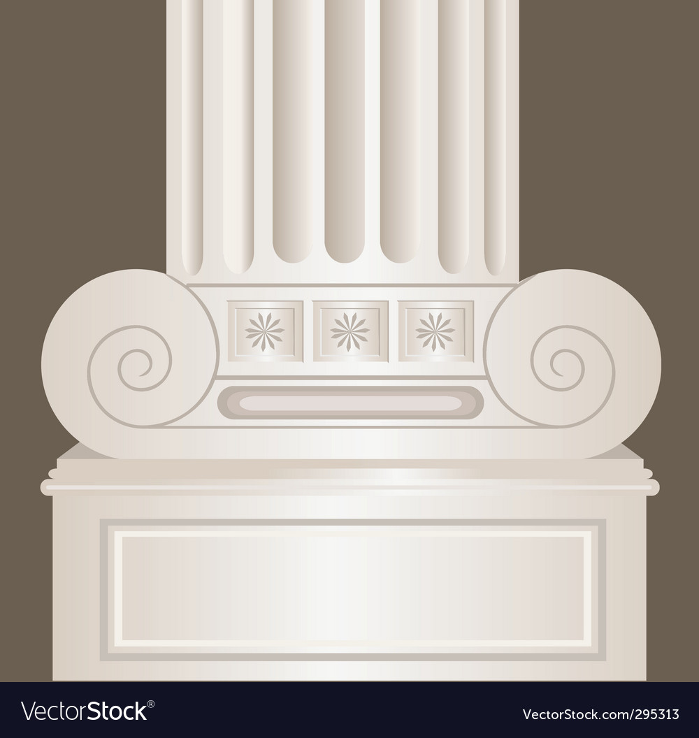 Pillar vector | Price: 1 Credit (USD $1)