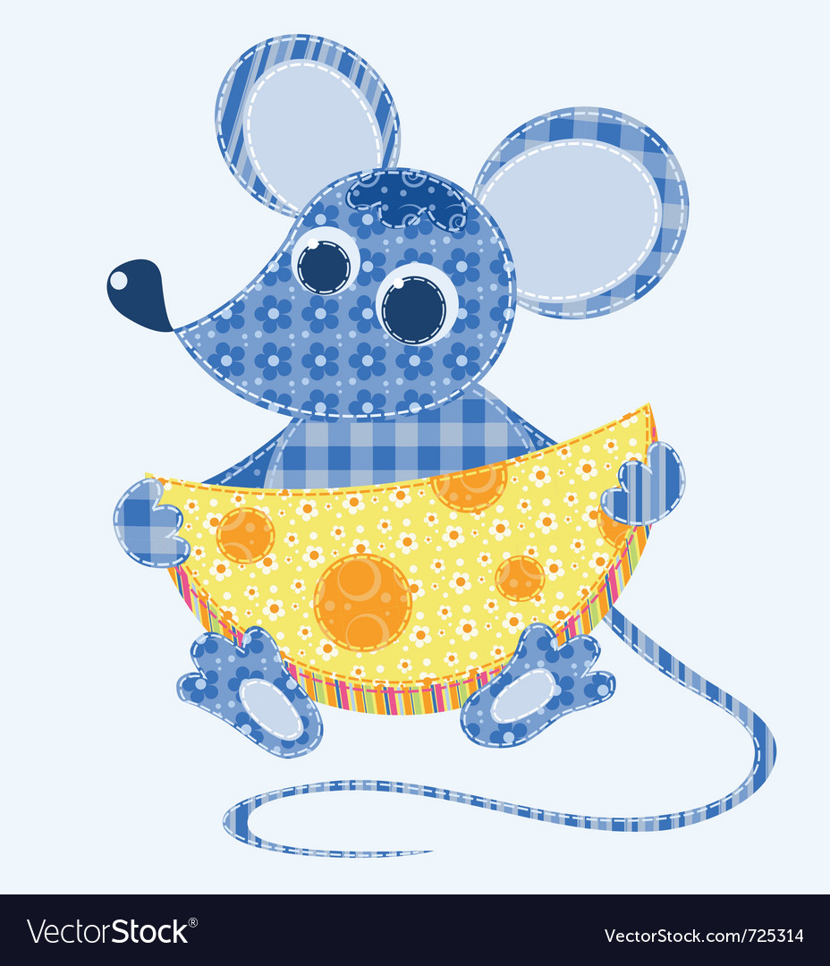Stitched mouse vector | Price: 1 Credit (USD $1)