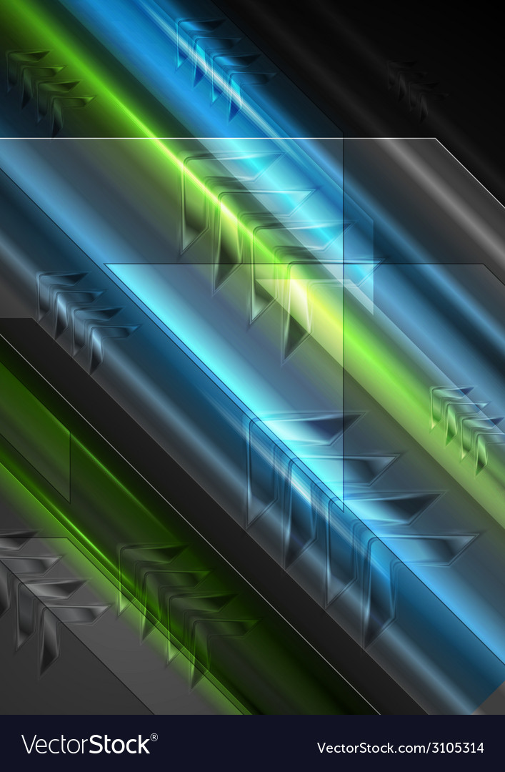 Tech shiny light background with arrows motion vector | Price: 1 Credit (USD $1)
