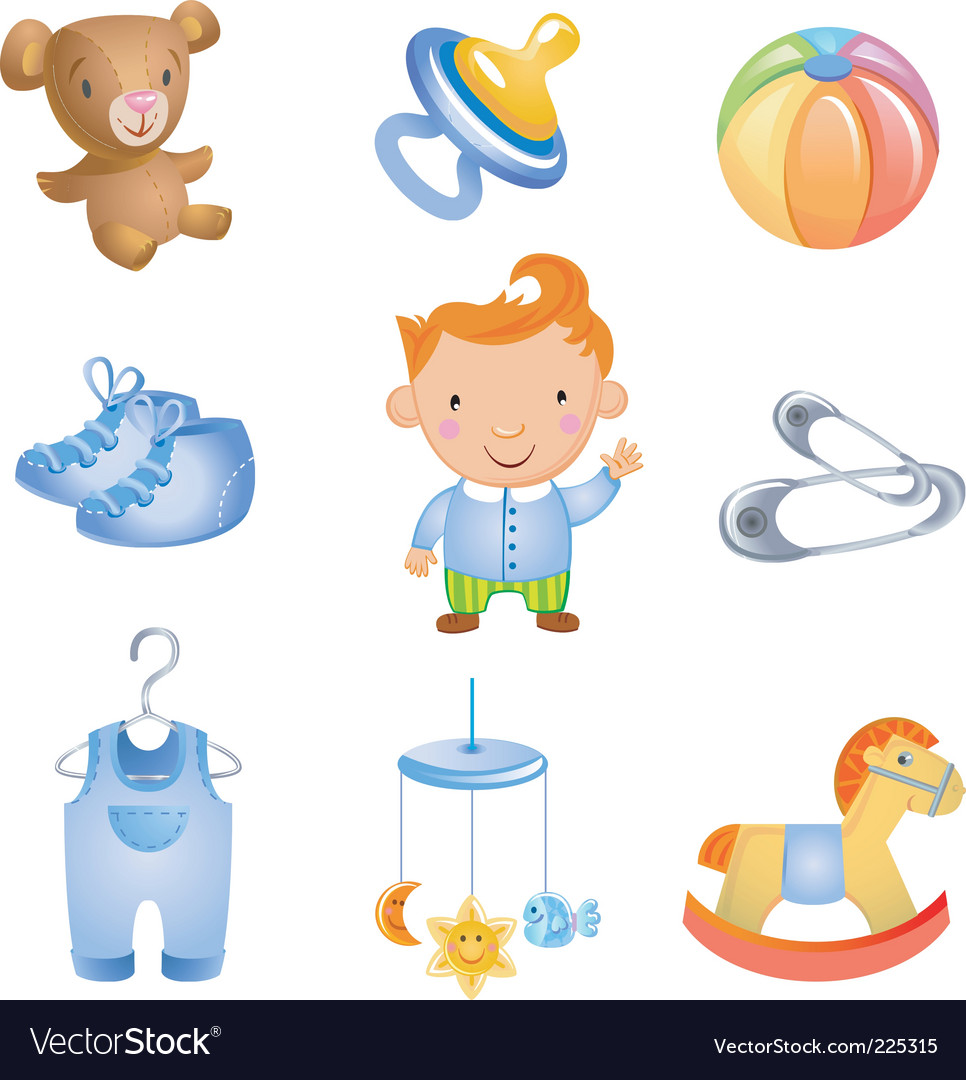 Baby icon vector | Price: 3 Credit (USD $3)