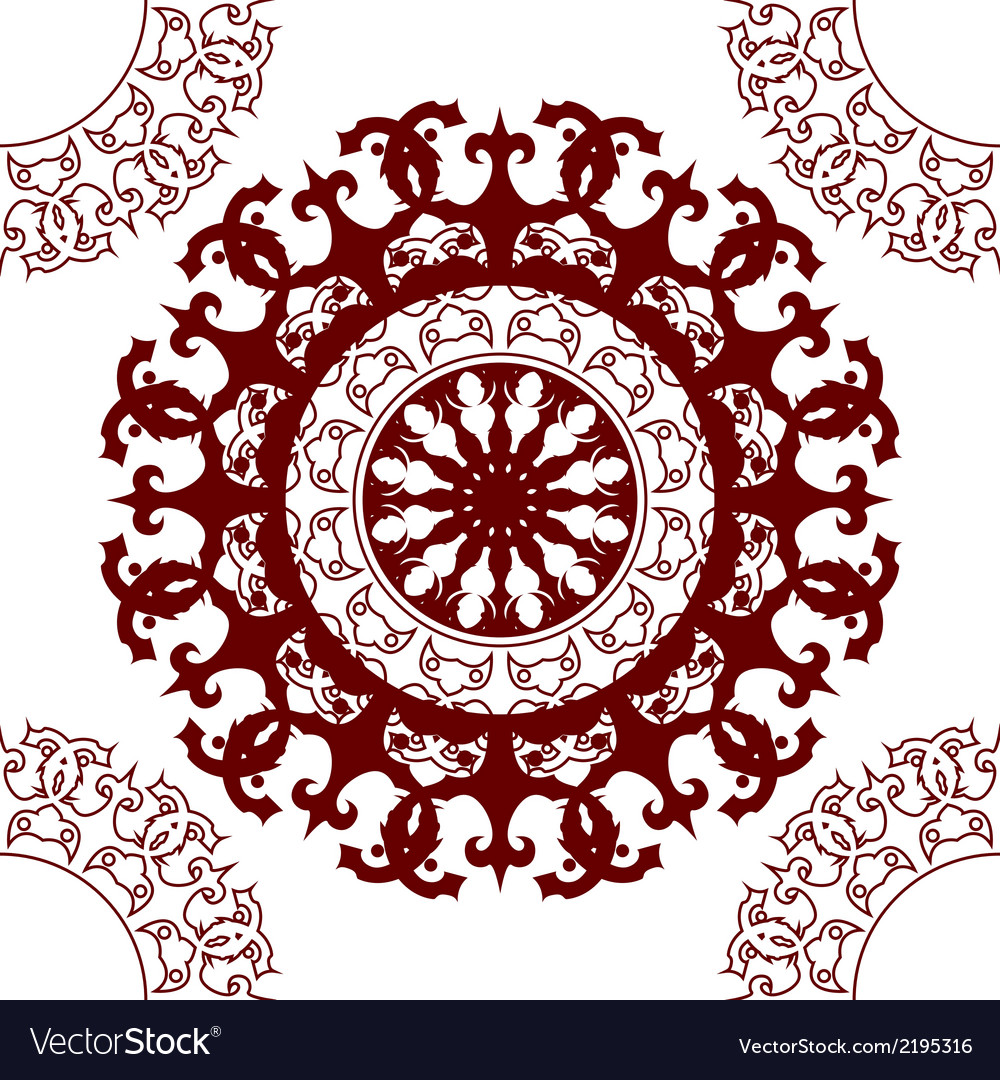 Graphic mandala pattern vector | Price: 1 Credit (USD $1)