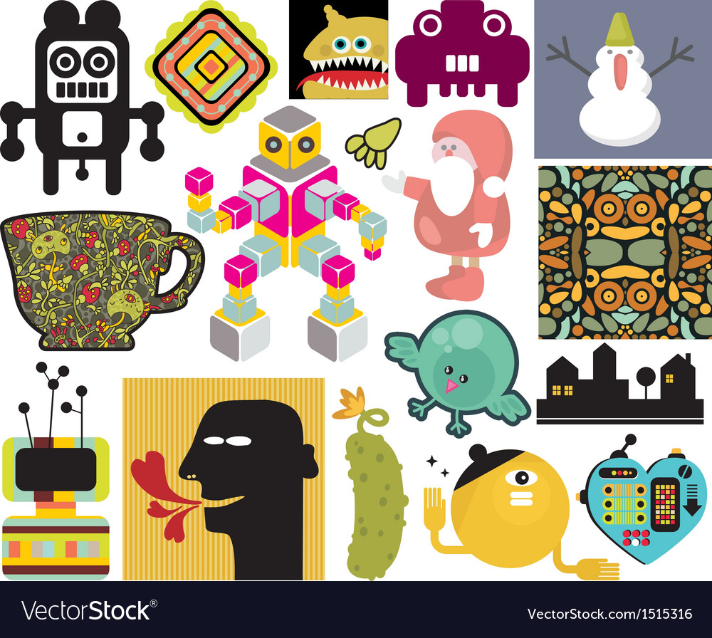 Mix of different images vol65 vector | Price: 1 Credit (USD $1)
