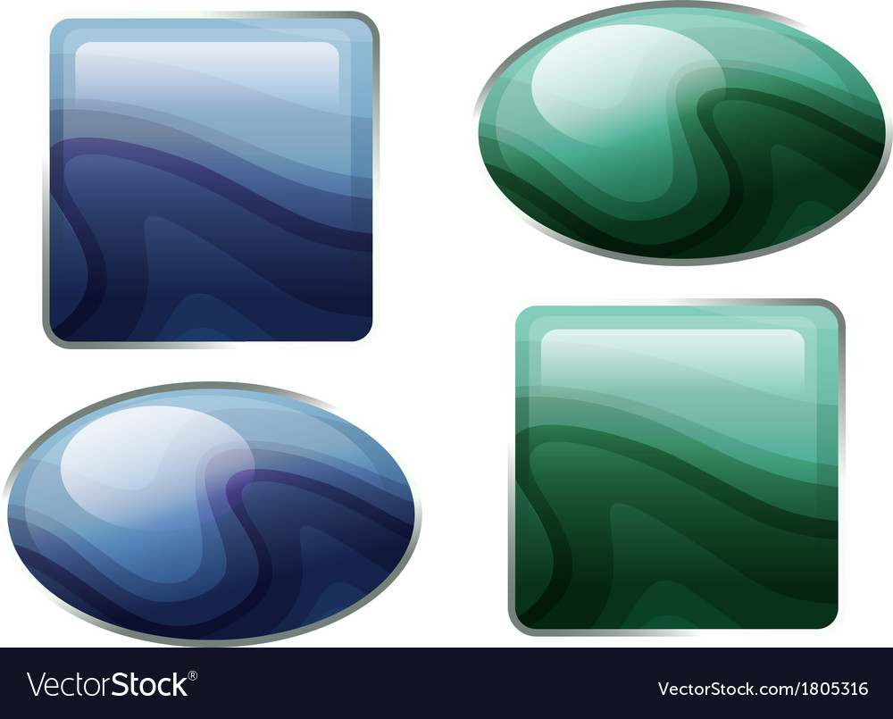 Semiprecious stones vector | Price: 1 Credit (USD $1)