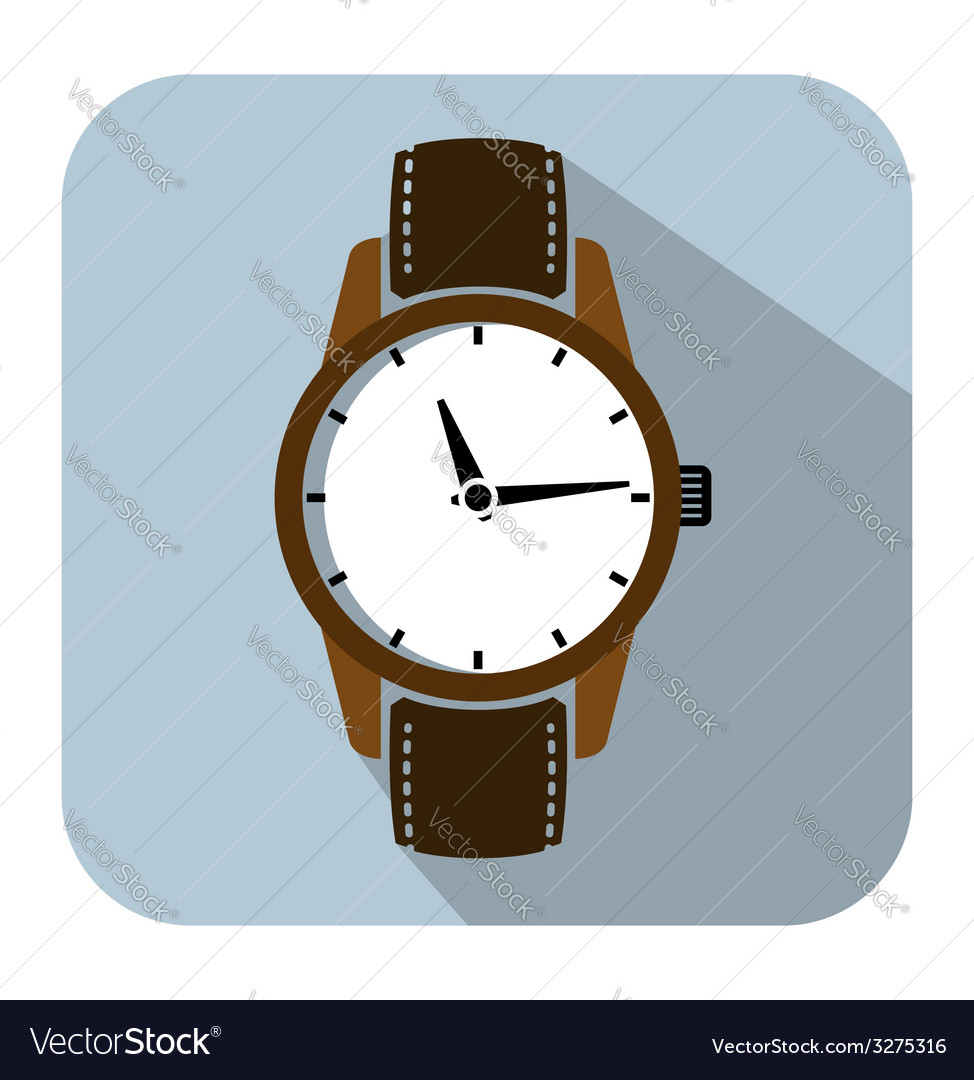 Watch icons vector | Price: 1 Credit (USD $1)