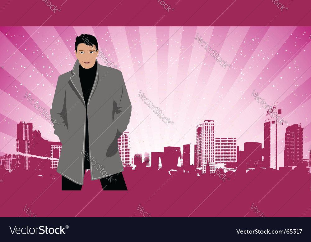 City life vector | Price: 3 Credit (USD $3)