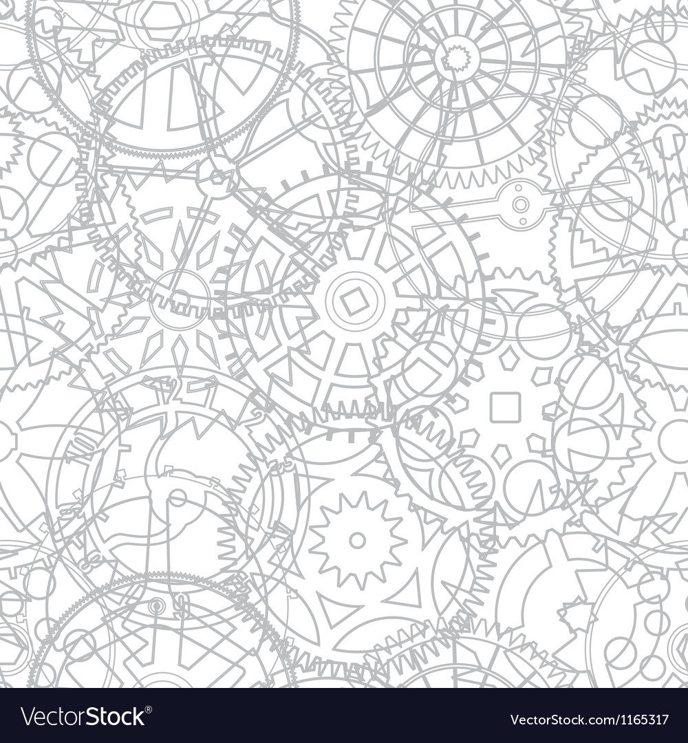 Gear cogs pattern background vector | Price: 1 Credit (USD $1)